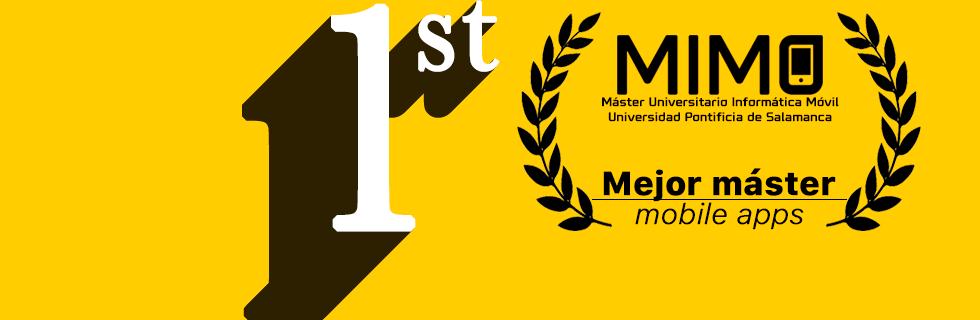 MÁSTER UNIVERSITARIO EN INFORMÁTICA MÓVIL (MÁSTER MIMO)