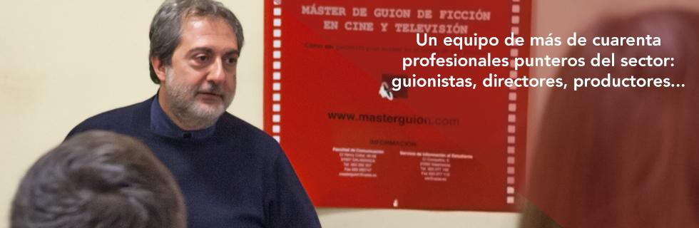 MÁSTER DE GUIÓN DE FICCIÓN PARA CINE Y TV