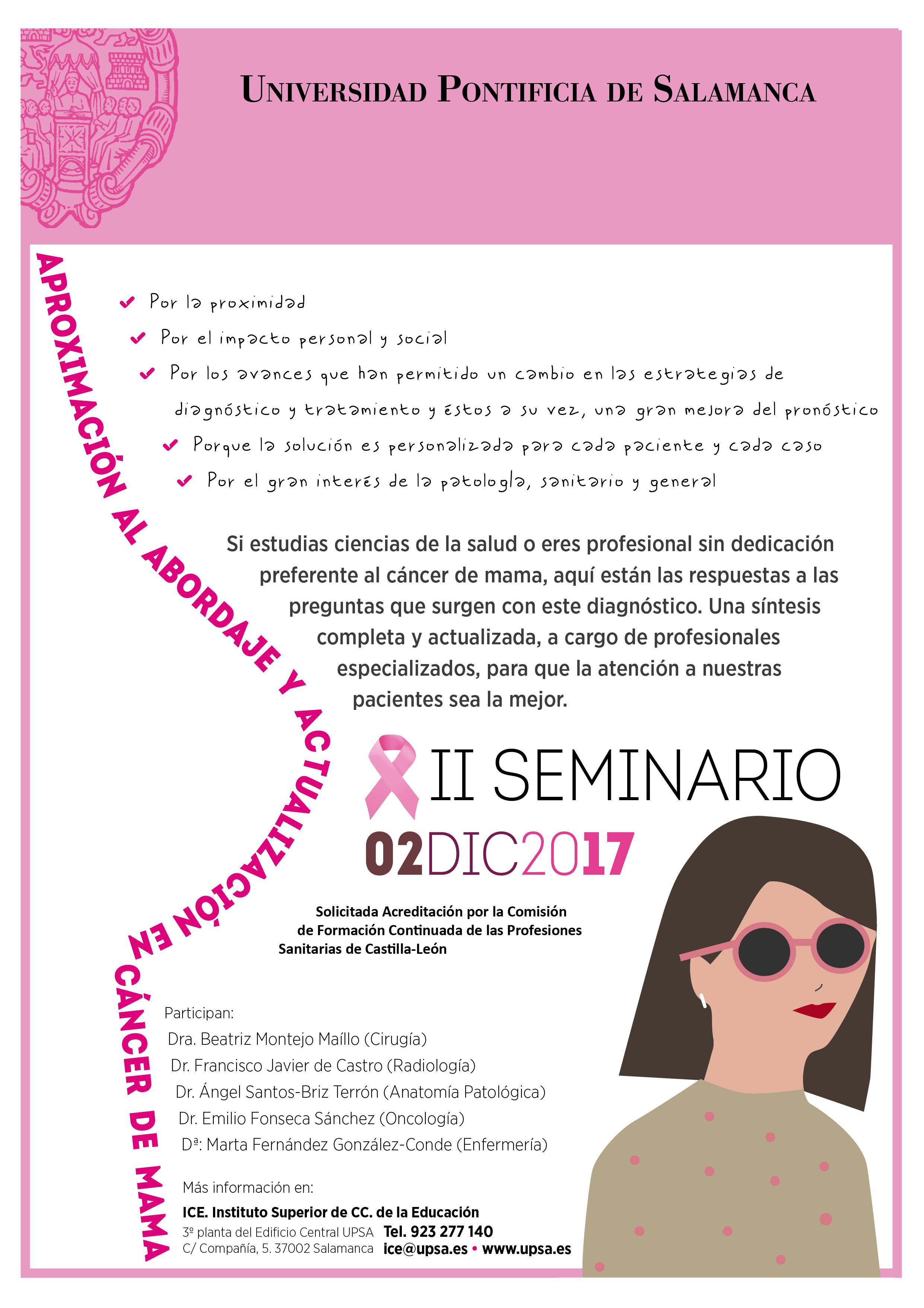 II Seminario \'Aproximación al abordaje y actualización en Cáncer de ...